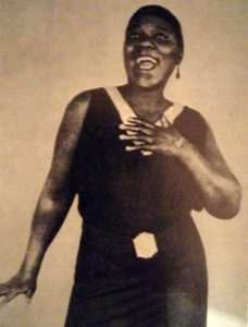Bessie Smith cantante de Jazz