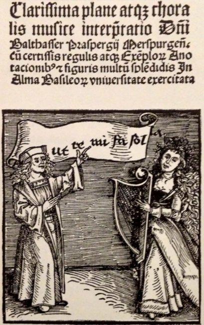 Grabado en madera y xilografia impreso en 1501