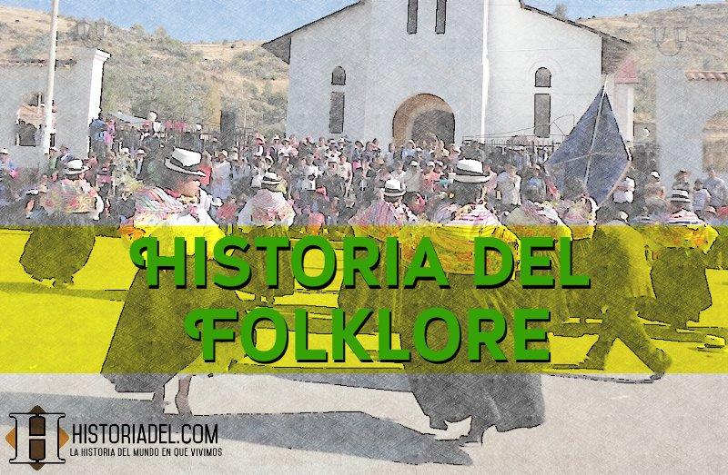 La historia del folklore portada