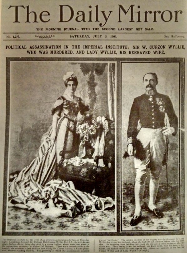 Daily Mirror periodico edicion 1909