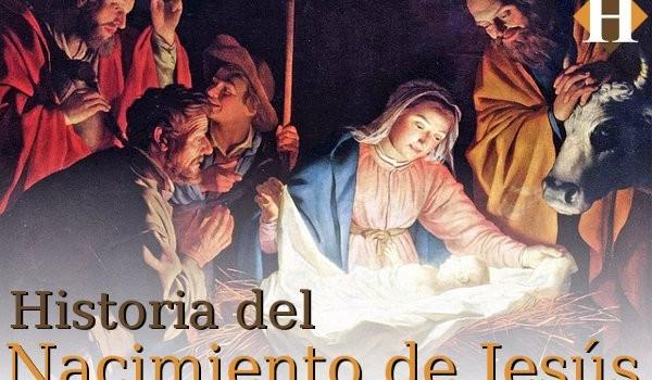 Historia del nacimiento de Jesus portada