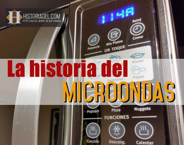 La historia del microondas