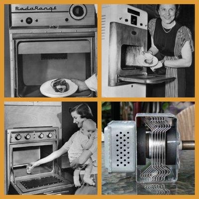 Microondas antiguos y magnetron