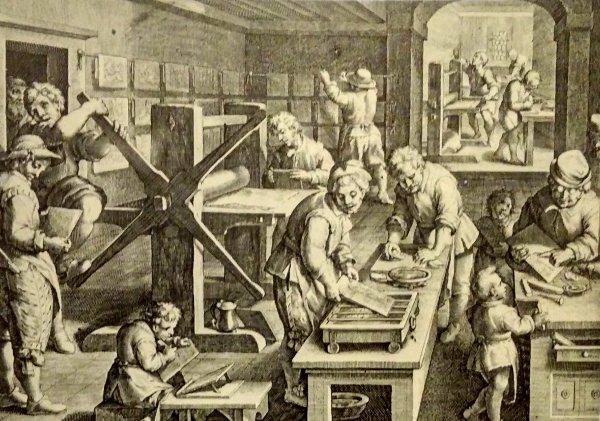 Taller de impresión siglo XVI